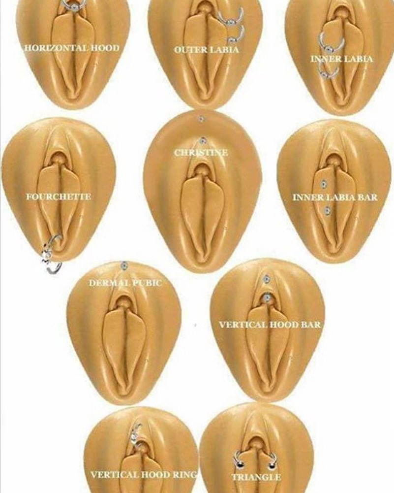 Health And Environment Gurus Female Genital Piercing Types And