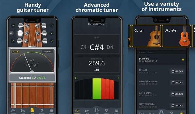 Chromatic Guitar Tuner Free Aplikasi Stem Gitar Android