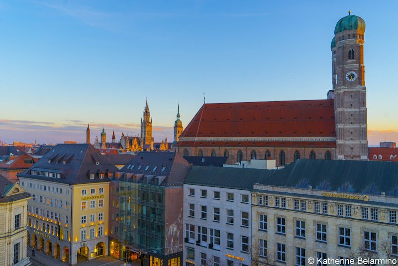 View from Hotel Bayerischer Hof Munich in a Day Long Layover