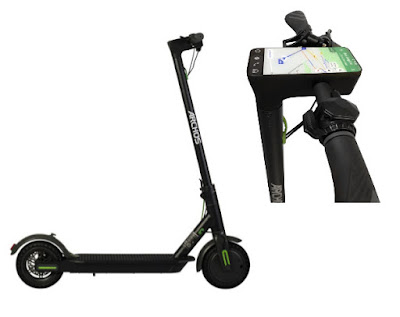 Archos Citee Connect is world's first Android-powered electric scooter