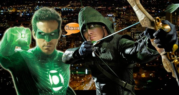 Arrow y Green Lantern