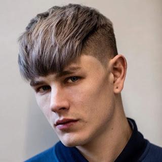 Contoh potongan model rambut undercut pria korea