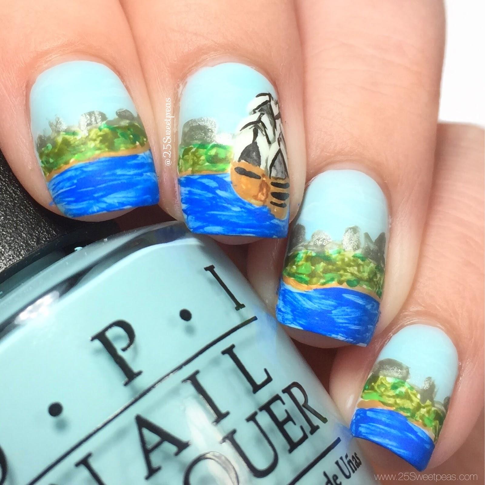 Landscape Nail Art