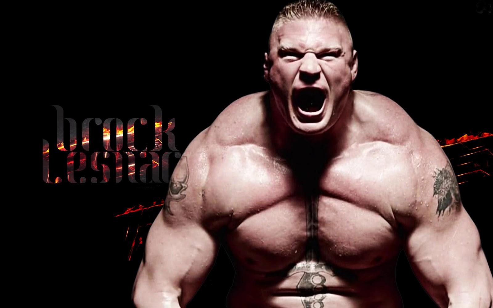 WORLD WRESTLING ENTERTAINMENT: Brock lesnar