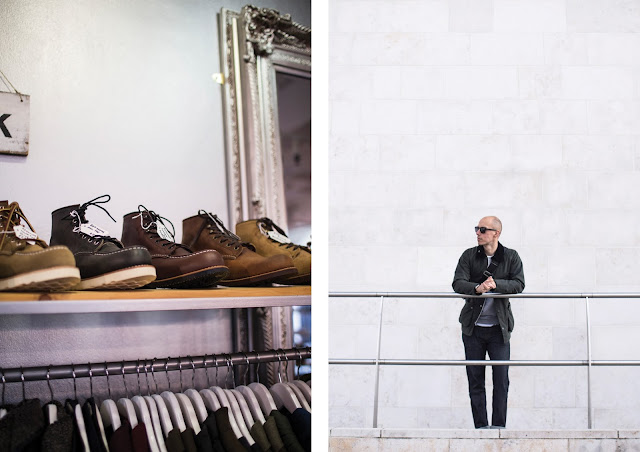 menswear store in liverpool, weavers door, red wing boots stockist in liverpool