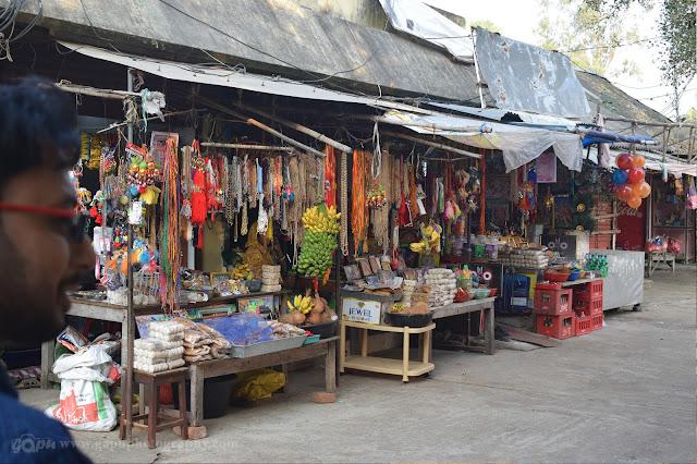 Bhoga Shops at Remuna Khirachora Gopinath Temple, Balasore