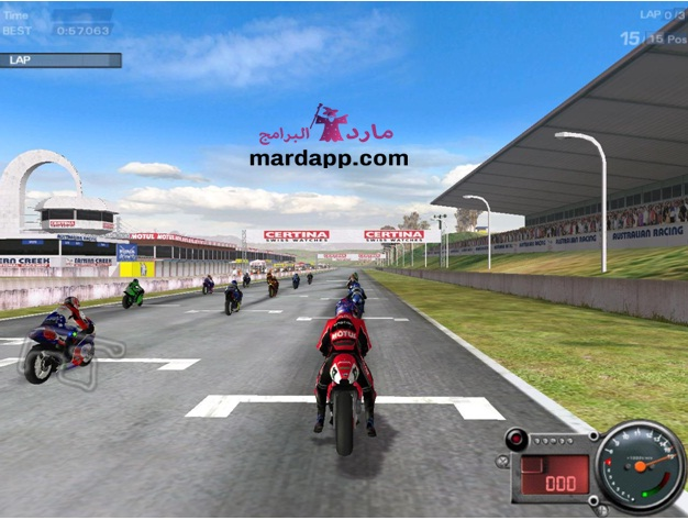 تحميل لعبة Moto Racer 3 موتو ريسر 3 للكمبيوتر برابط مباشر ميديا فاير