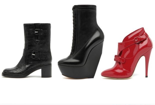New High Heel Shoes Collection Pictures 2012 13 For Girls