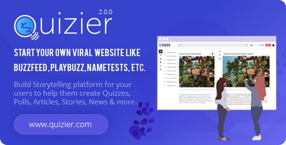 Quizier Multipurpose Viral Application php script