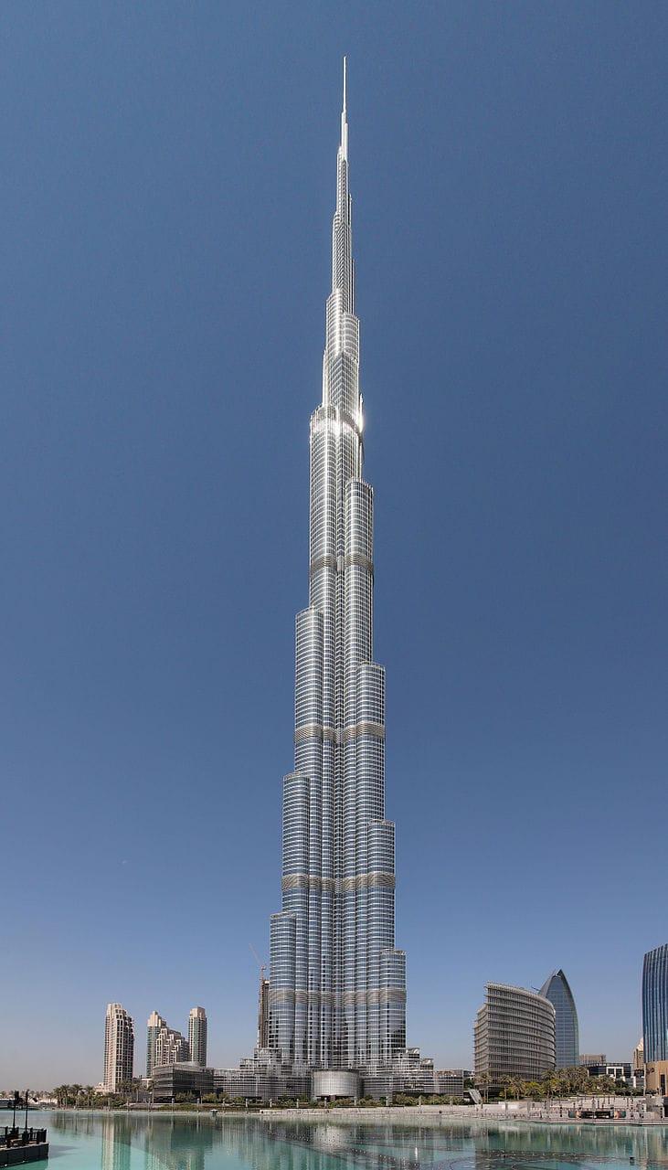 The 10 tallest buildings like Burj Khalifa in the world