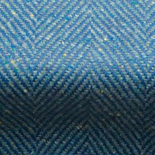 Penrith Herringbone Fabric Azure Blue
