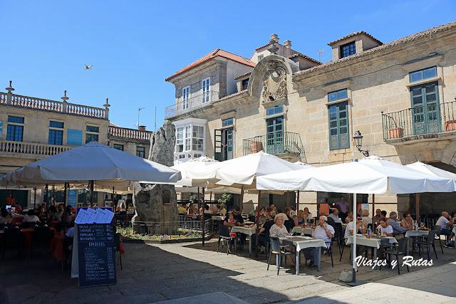 Calles de Bayona, Pontevedra