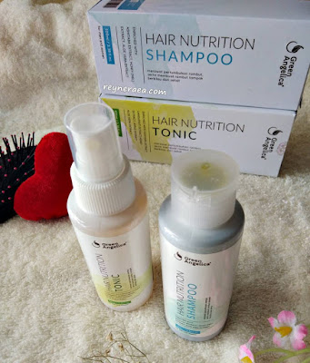 Green Angelica Hair Nutrition shampoo dan tonic