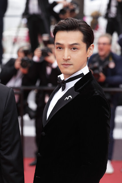 Hu Ge Cannes Red Carpet