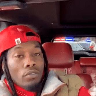 American Rapper OFFSET Arrested on Instagram Live - cover