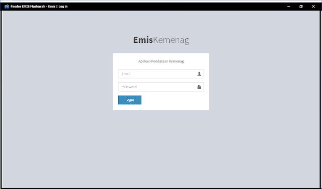 Cara Instal Aplikasi Feeder EMIS (AFE) yang Benar