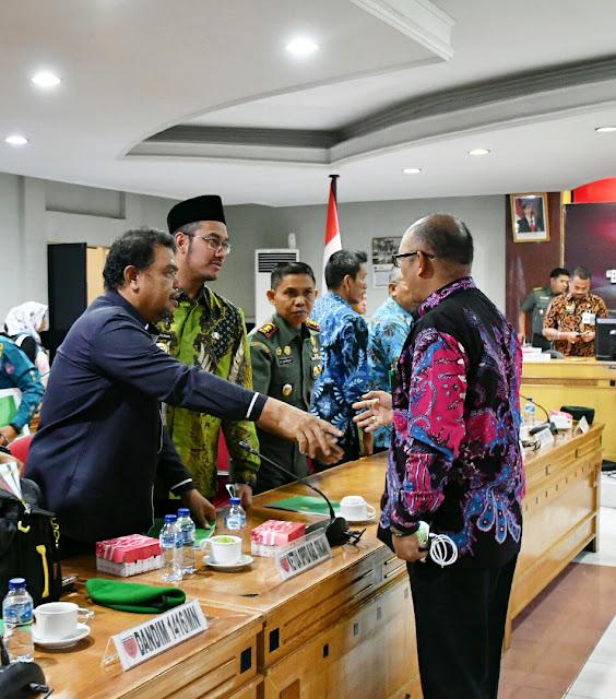 Bupati Sinjai hadiri rakornis TMMD Ke-105 di Makodam Makassar