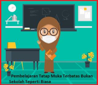 Pembelajaran Tatap Muka Terbatas Bukan Sekolah Seperti Biasa