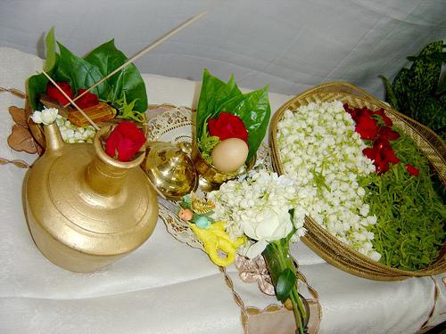 Bunga Tujuh Rupa Sesajen