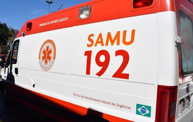 Colisão entre carro e moto deixa três pessoas feridas na zona leste de Teresina