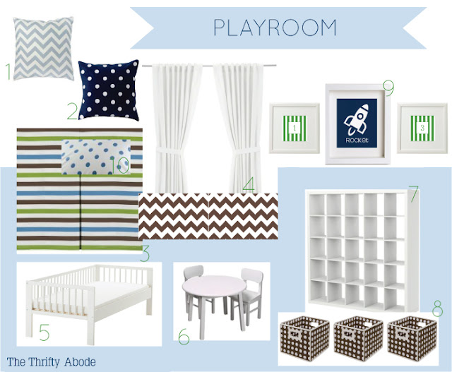 Tentative Playroom Plans The Thrifty Abode