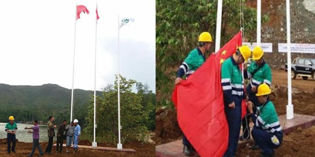 Bendera China Berkibar di Halmahera, Abdul Kharis: Ini Ancaman Terhadap Kedaulatan Bangsa