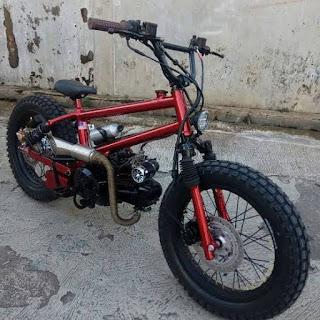 MODIFIKASI SEPEDA MOTOR BMX