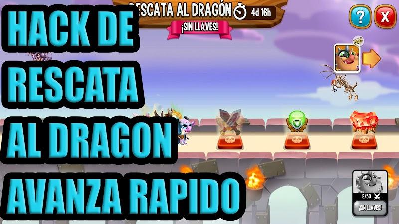 HACK RESCATA AL DRAGON 6 VS 6 - AVANZA RAPIDO
