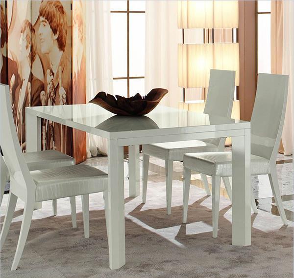 Berbagai Model Furnitur Ruang Makan Berwarna Putih