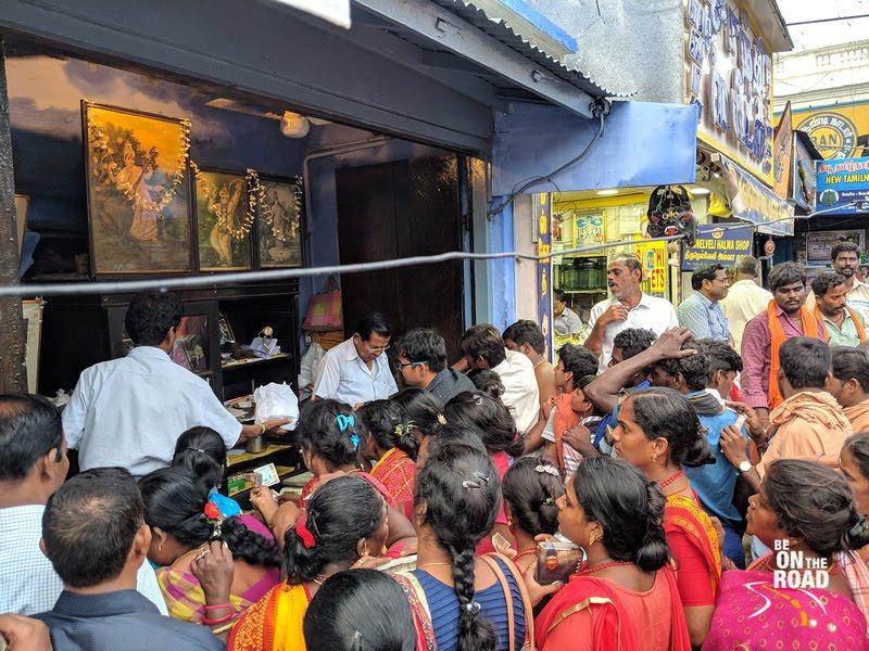 Iconic Iruttu Kadai Halwa shop of Tirunelveli, Tamil Nadu