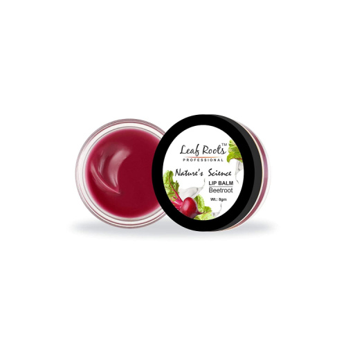 Leaf Roots Nature's Science Beetroot Lip Balm