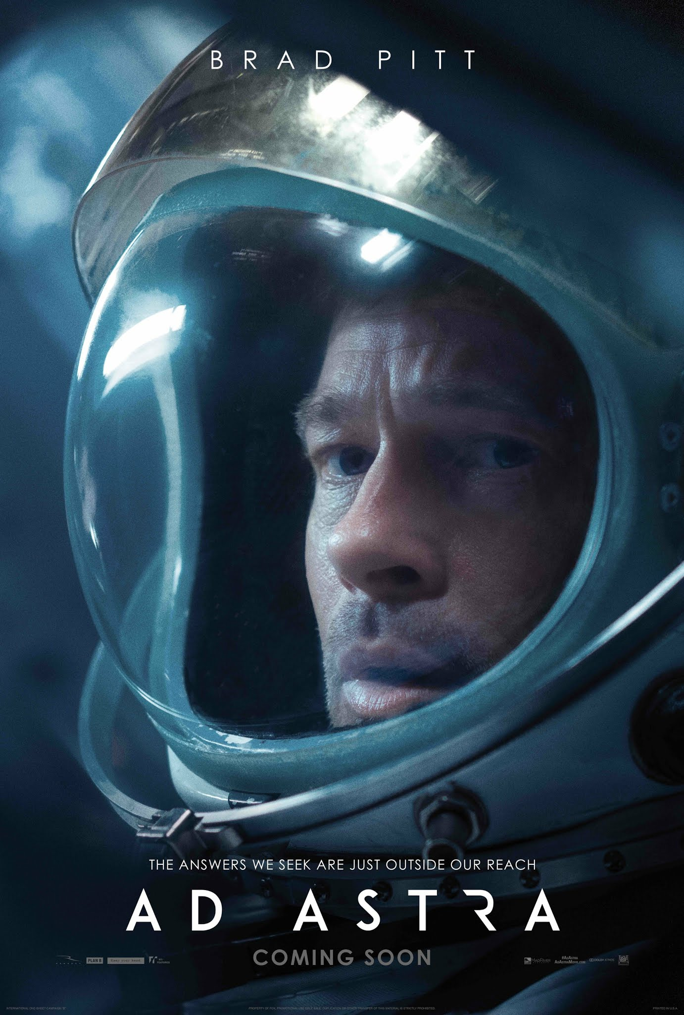 ad astra film recenzja brad pitt tommy lee jones
