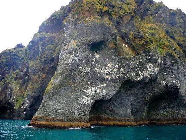 Sebuah Pulau Yang Berbentuk Seperti Gajah Di Islandia