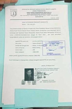 Dinas Pendidikan Keluarkan SKPI, Ijazah JR Saragih Hilang 5 Maret