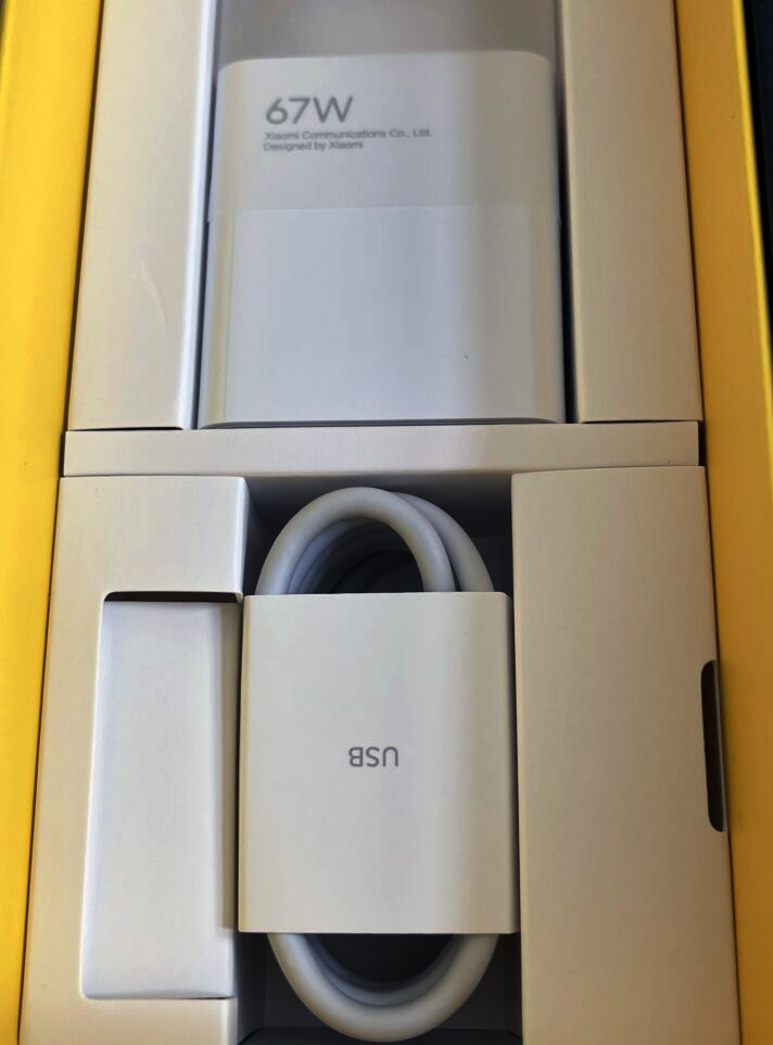 Charger 67 W Poco X3 GT