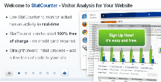 statscounter web analytics