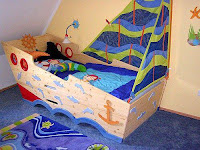 Increíbles camas que les encantarán a los pequeños barco