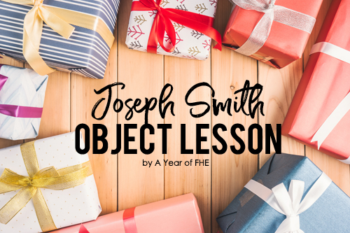 Your family will love this easy and effective object lesson about Joseph Smith's first vision! It's such a great way to start a lesson in church or to go along with a Family Home Evening lesson.