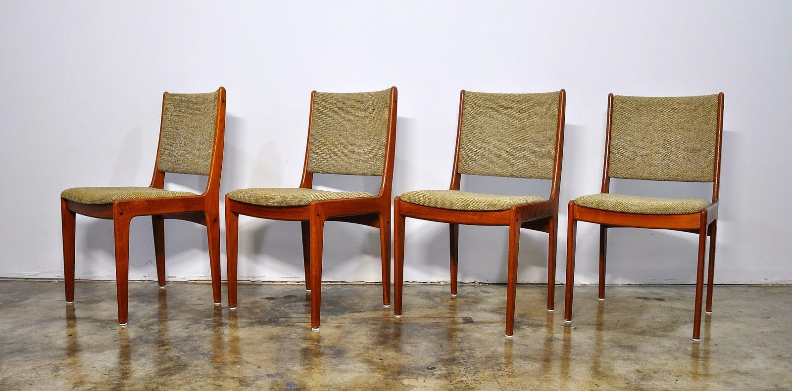 danish modern dining chairs adirondack fire pit select modern: set of 4 teak