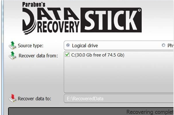 PARABENT'S DATA RECOVERY STICK