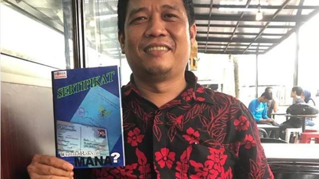 Sempat Ditolak Beberapa Percetakan, Buku Kebohongan Reformasi Agraria Jokowi Segera Diproduksi