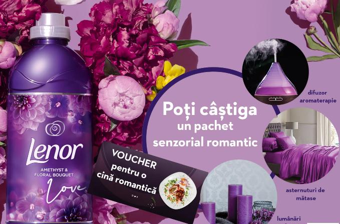 Concurs Lenor Parfumelle - Castiga un pachet senzorial - concursuri - online