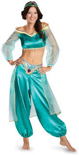 Women's Disney Princess Jasmine Fab Prestige Adult Costume