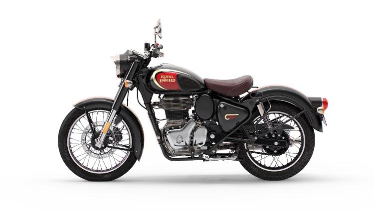 Classic 350 Halcyon Black