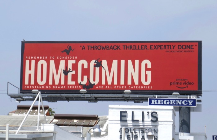 Homecoming 2019 Emmy FYC billboard