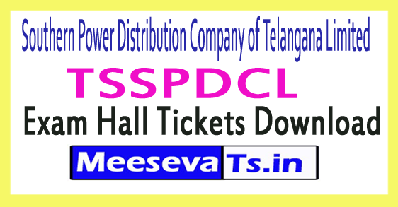 Southern Power Distribution Company of Telangana Limited TSSPDCL JAO Hall Tickets Download