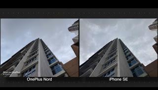 ONE PLUS NORD VS I PHONE SE