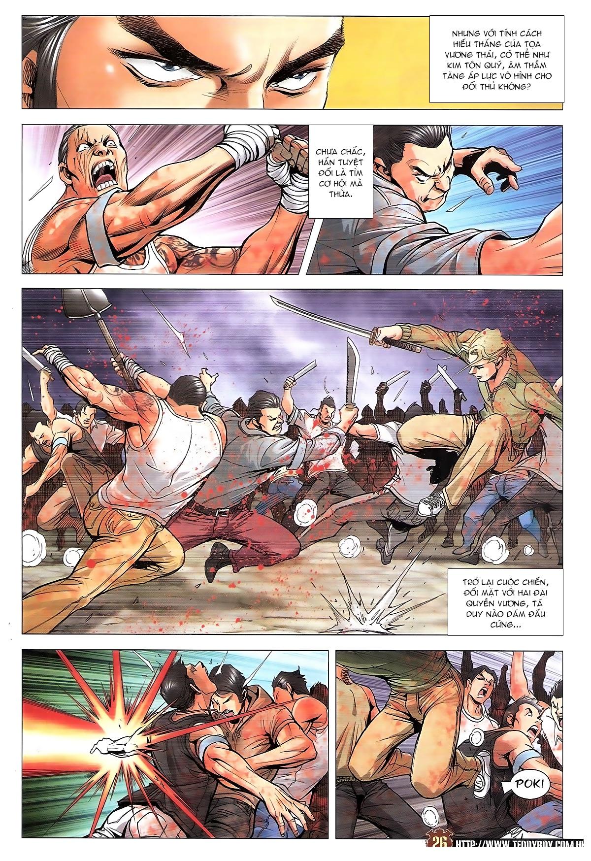 Người Trong Giang Hồ chapter 1834: kim mông không vs kim mông không trang 23