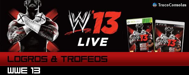 Logros y Trofeos WWE 13 PS3 XB360