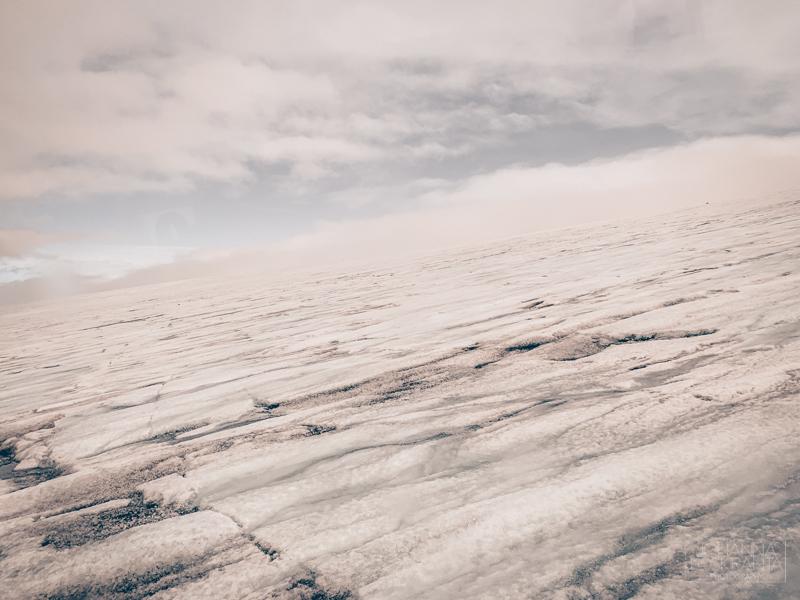 Langjökull-jäätiköllä Islannissa